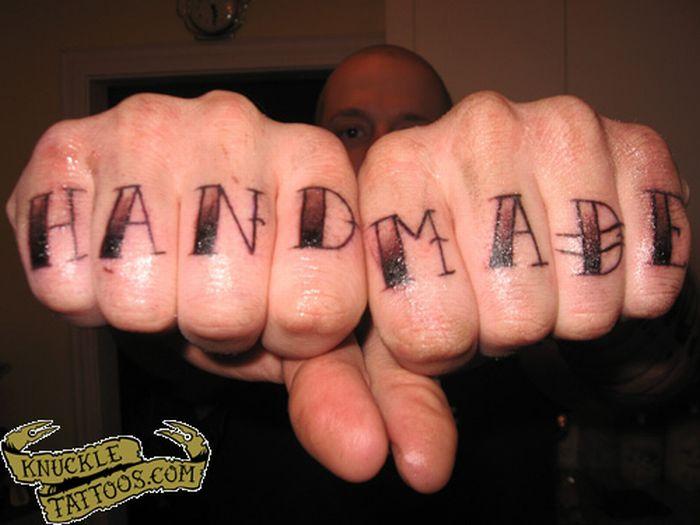 Knuckle Tattoos 80 Pics
