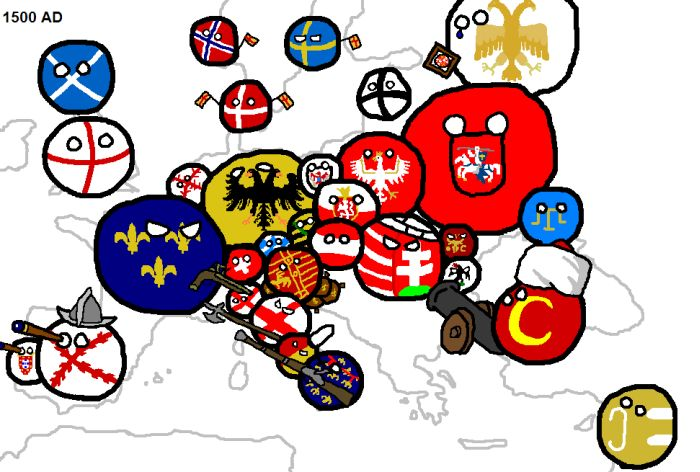 Map of European Conflicts (14 pics)