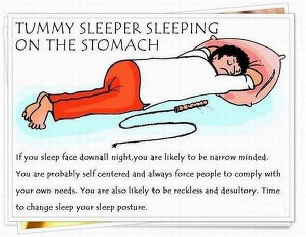 What Your Favorite Sleeping Pose Can Tell About You (8 pics)