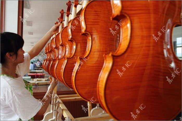 How Violins are Made (43 pics)