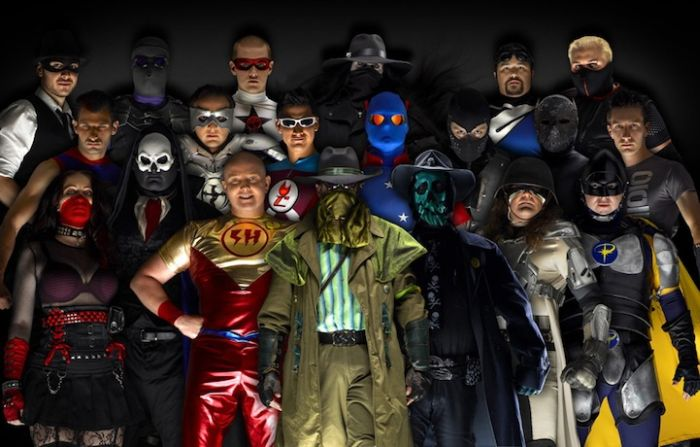 Real Life Superheroes (11 pics)
