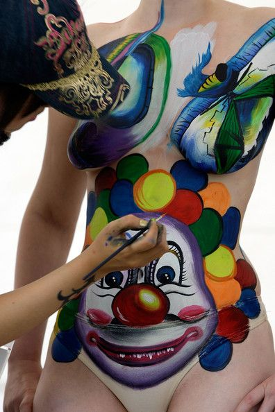 Bodypainting Festival in South Korea (28 pics)