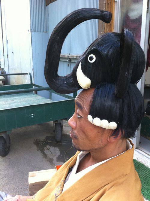 Awesome Elephant Hairdo (2 pics)