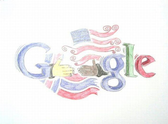 Google Logo on Gmo Drawing