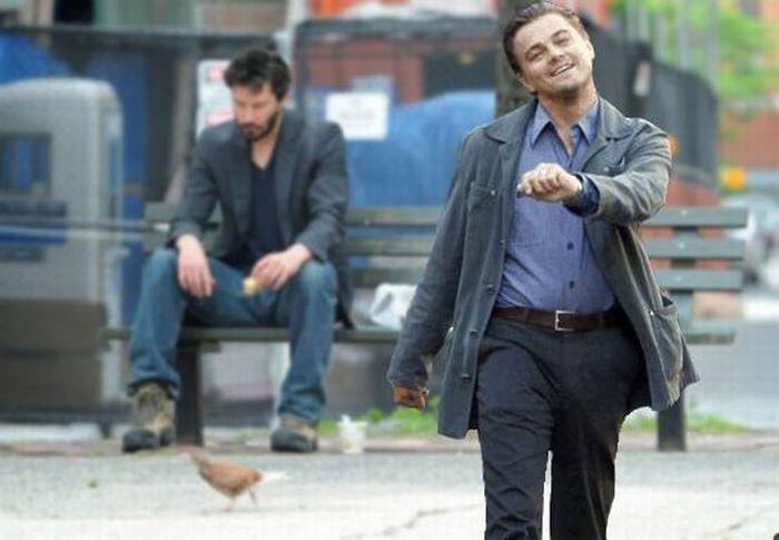 Happy Leonardo DiCaprio
