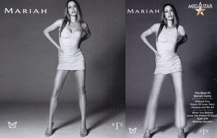 Mariah Carey and Saudi Arabian Censorship (10 pics)