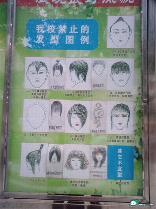Banned Hairstyles (10 pics)