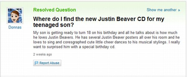 The Best of Yahoo! Answers. Part 3 (45 pics)