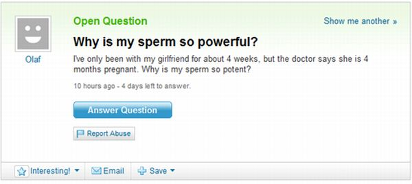 Best of Yahoo! Answers. Part 3 (45 pics)