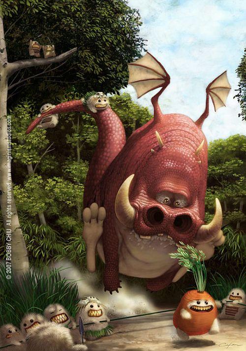 Dragons (49 pics)