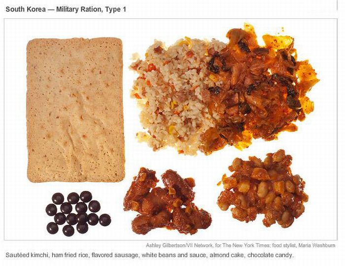 Combat Meals in Afghanistan (13 pics)