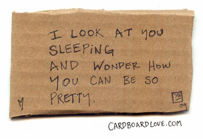Cardboard Love (88 pics)