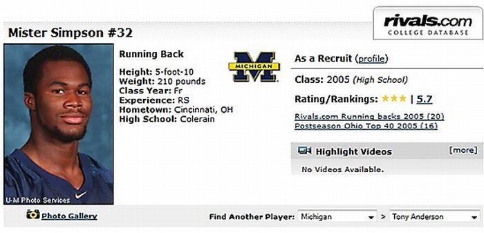 The 30 Funniest Player Names In College Football History (30 pics)