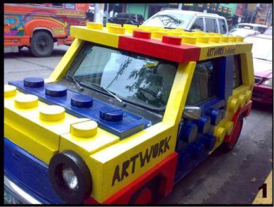 Geeky Car Mods (28 pics)