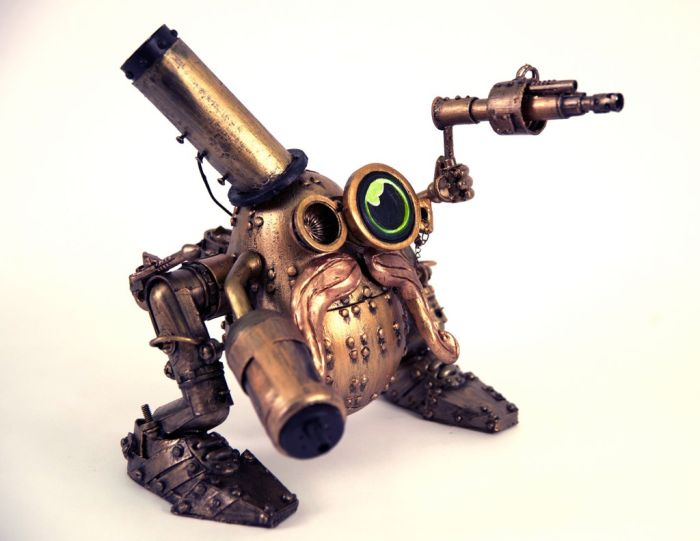 Steampunk Mr. Potato Head (15 pics)
