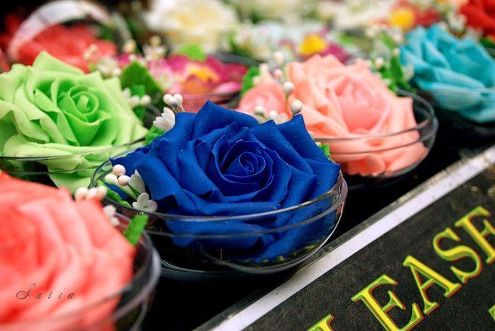 Beautiful Soap Flowers (12 pics)