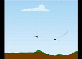 Biplane Bomber 2