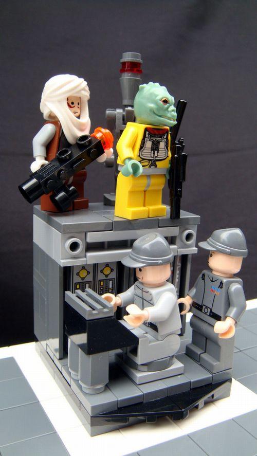 The Empire Strikes Back Lego Chess (22 pics)