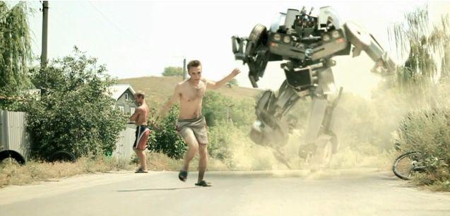 Russian Transformer. Nice Self-Made Video
