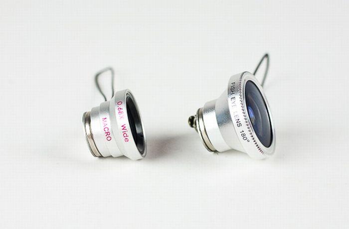 Fish Eye Lens (3 pics)