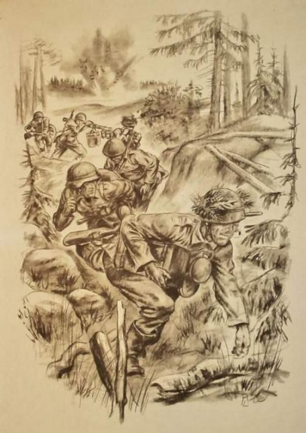 WWII Pencil Drawings (12 pics)