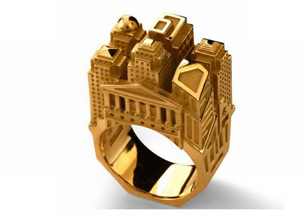 Beautiful Architectural Rings (20 pics)