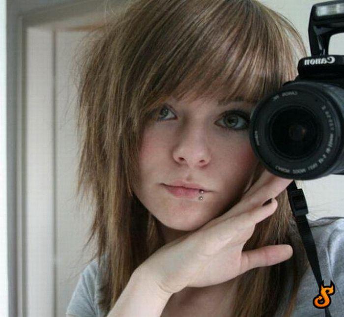 Cute Emo Girls (71 pics)