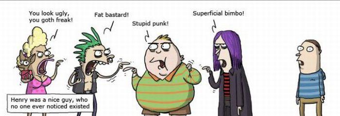 Funny Comic Strips (40 pics)