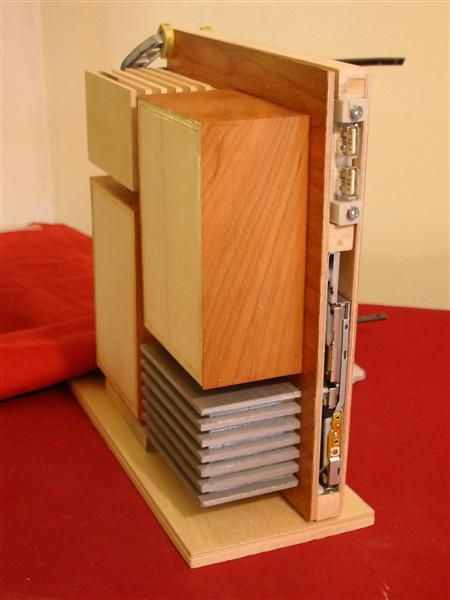 Wooden PC Case (68 pics)