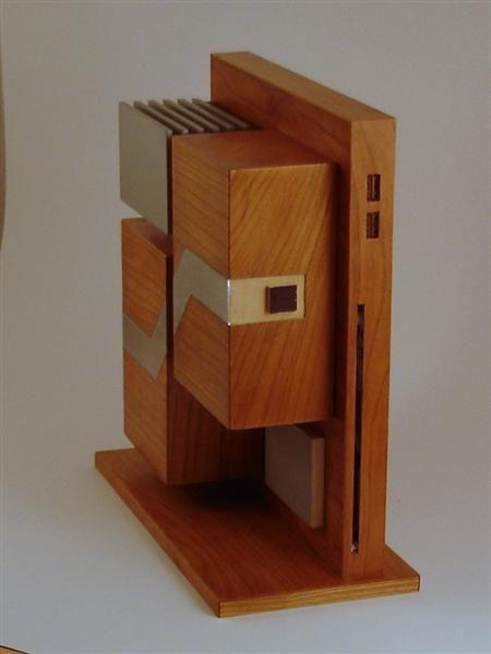 Wooden PC Case (68 pics)