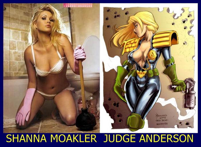 Adult Stars and Comics Babes (39 pics)