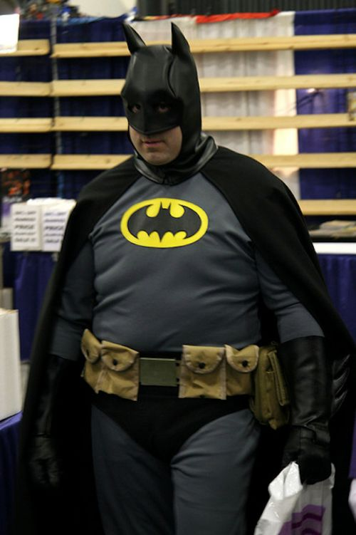 Fat Batmans and Spidermans (50 pics)
