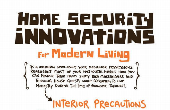 Home Security Innovations (infographic)