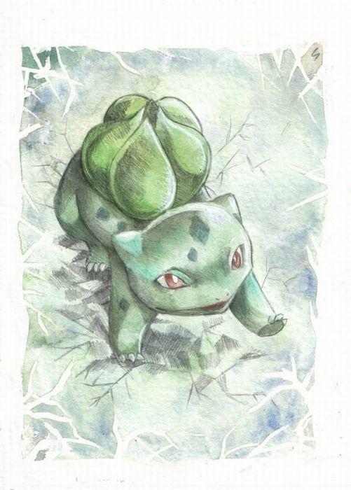 Pokemon Drawings (94 pics)