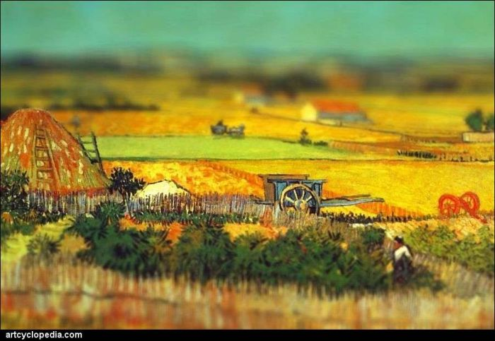 Van Gogh's Paintings with Tilt-Shift Effect (16 pics)
