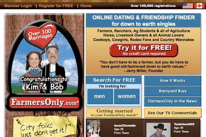 Most Bizarre Dating Websites (25 pics)