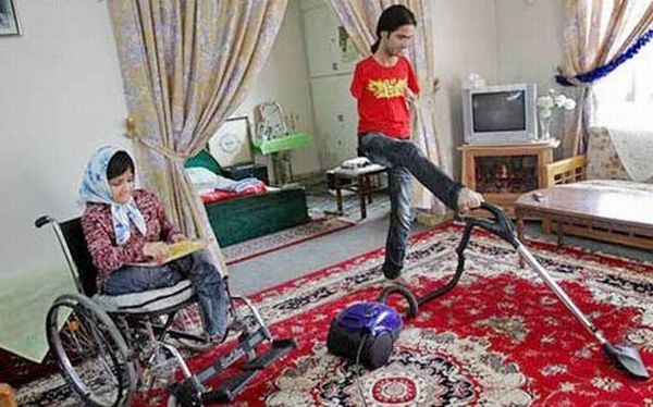 Disabled Couple (16 pics)