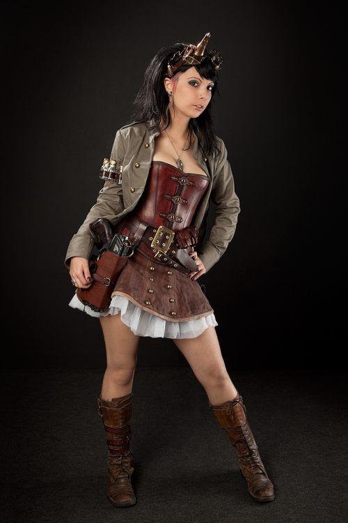 steampunk cosplay ii wow