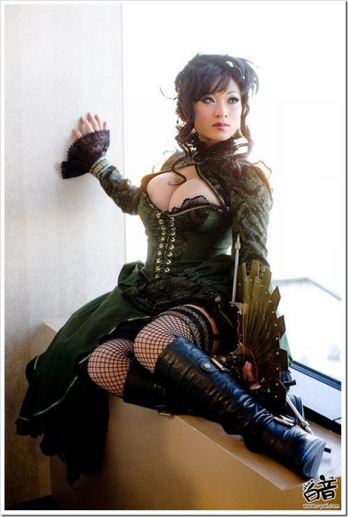 steampunk cosplay ii new