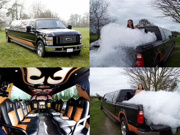 Too Much Partying Killed a Limo (8 pics)