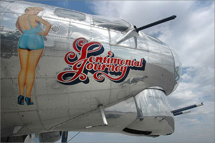 Awesome Aircraft Nose Art (23 pics)