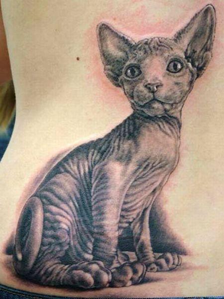 Cat Tattoos (18 pics)