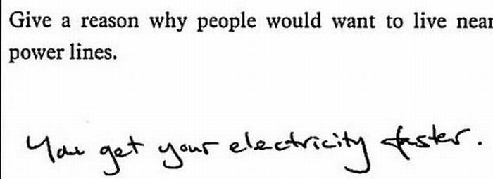 Funny Exam Answers (23 pics)