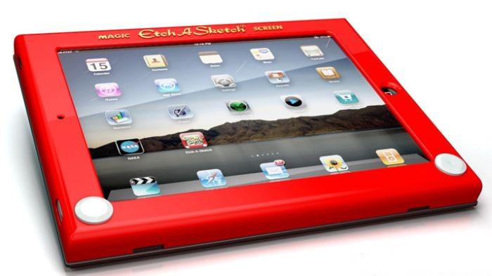 Etch A Sketch iPad Case (5 pics)