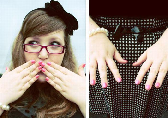 Stylish Plump Girl (36 pics)