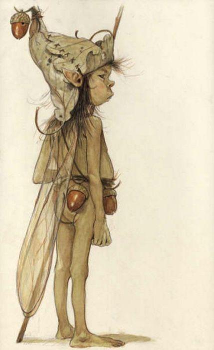 Drawings of Elves (39 pics)