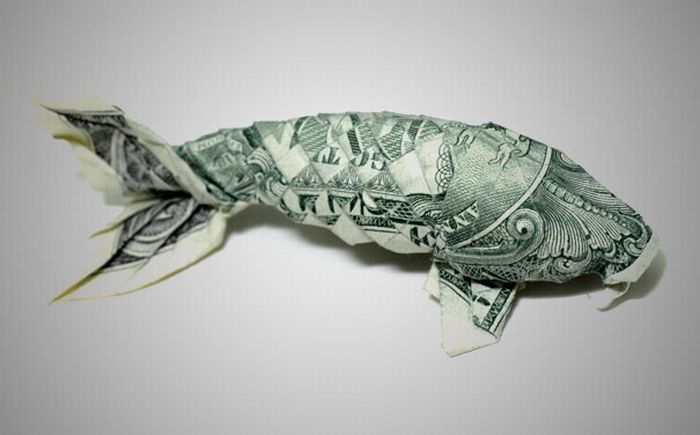 Money Origami (20 pics)
