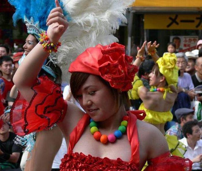 Samba Carnival in Japan (24 pics)