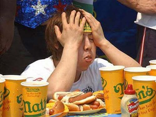 Competitive Eating Pictures (24 pics)