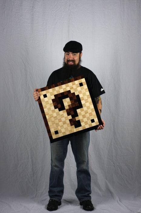 8 Bit Wood (47 pics)